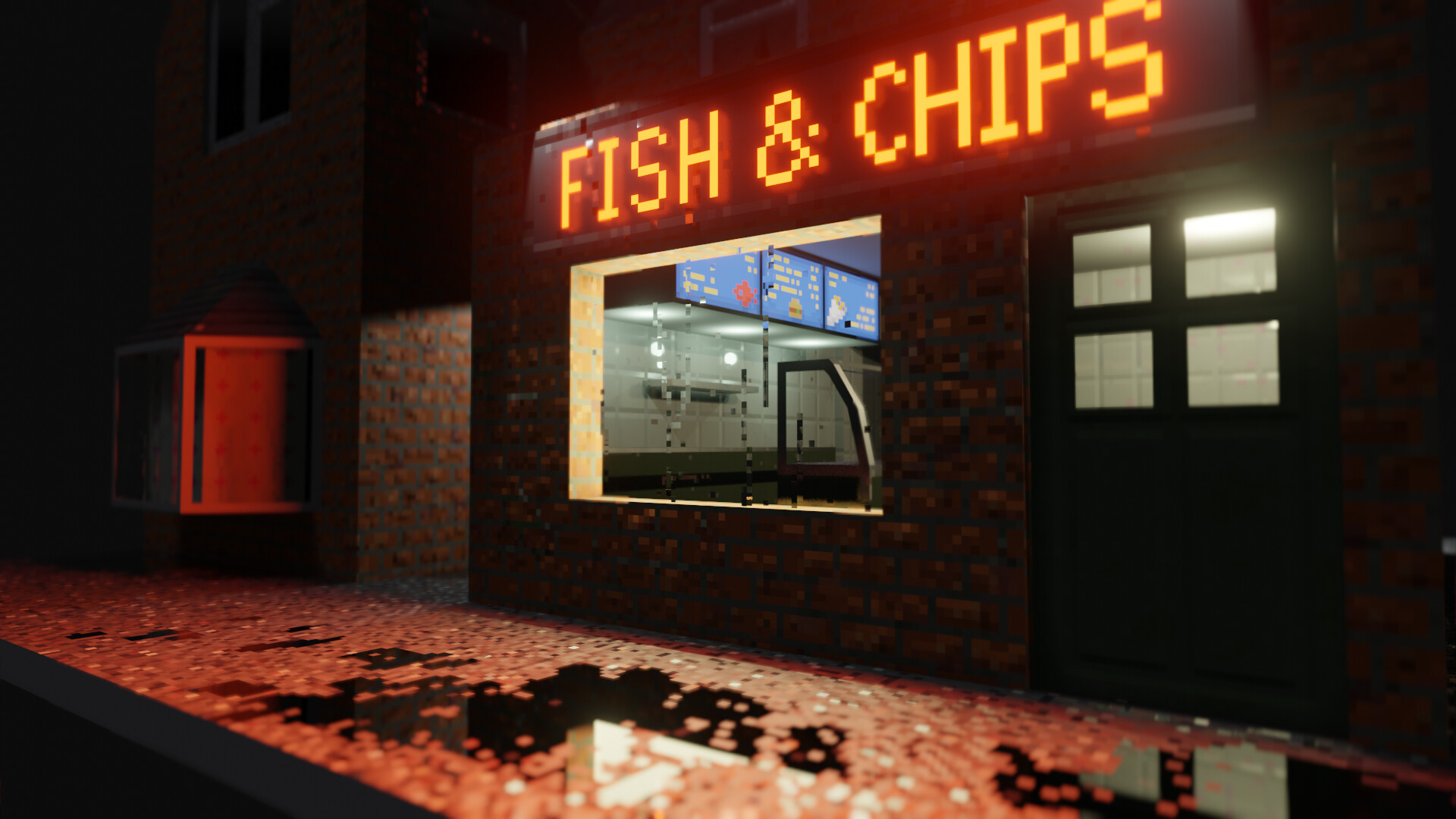 Alexander Kirby Pixel Art Chip Shop