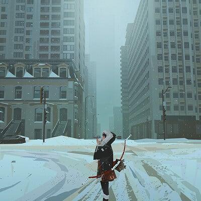 Yun ling snow city