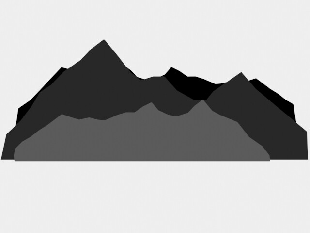 Mountains 1: Front