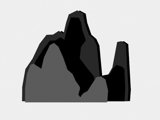 Mountains 3: Front