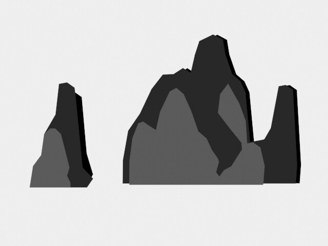 Mountains 2: Front