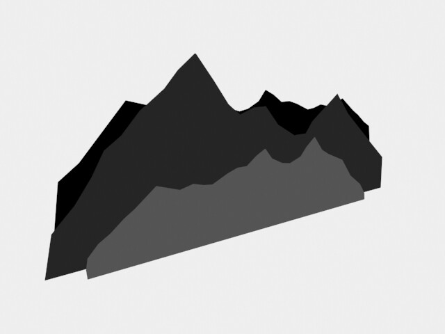 Mountains 1: Side