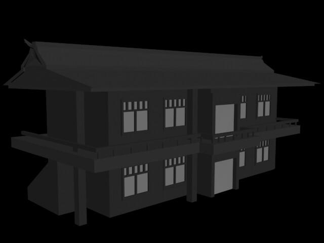 Village House 1: Side