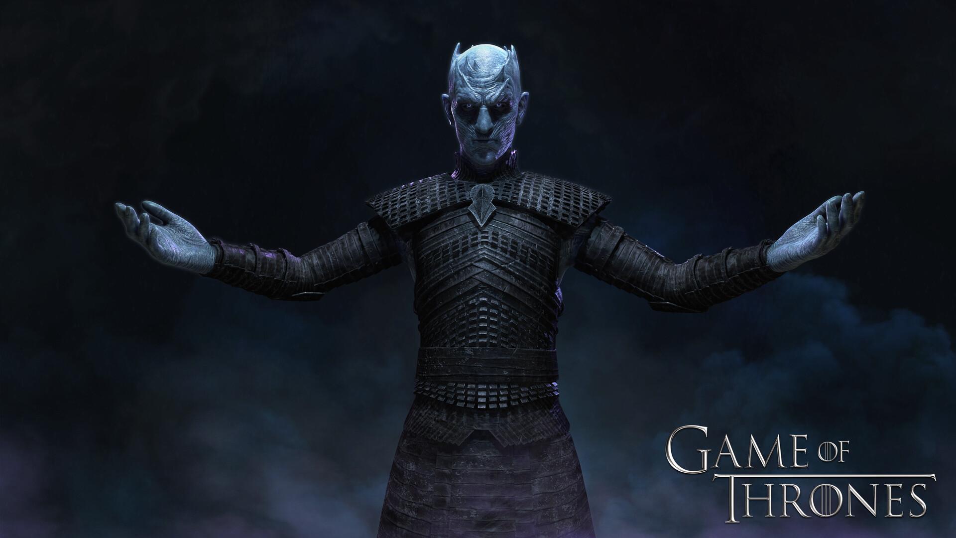Artstation Game Of Thrones Drago Night King Dohun Lee
