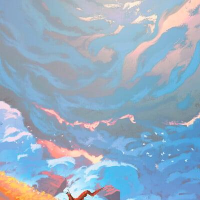 Anato finnstark the king s journey the edge of time by anatofinnstark dcy9eq0 fullview