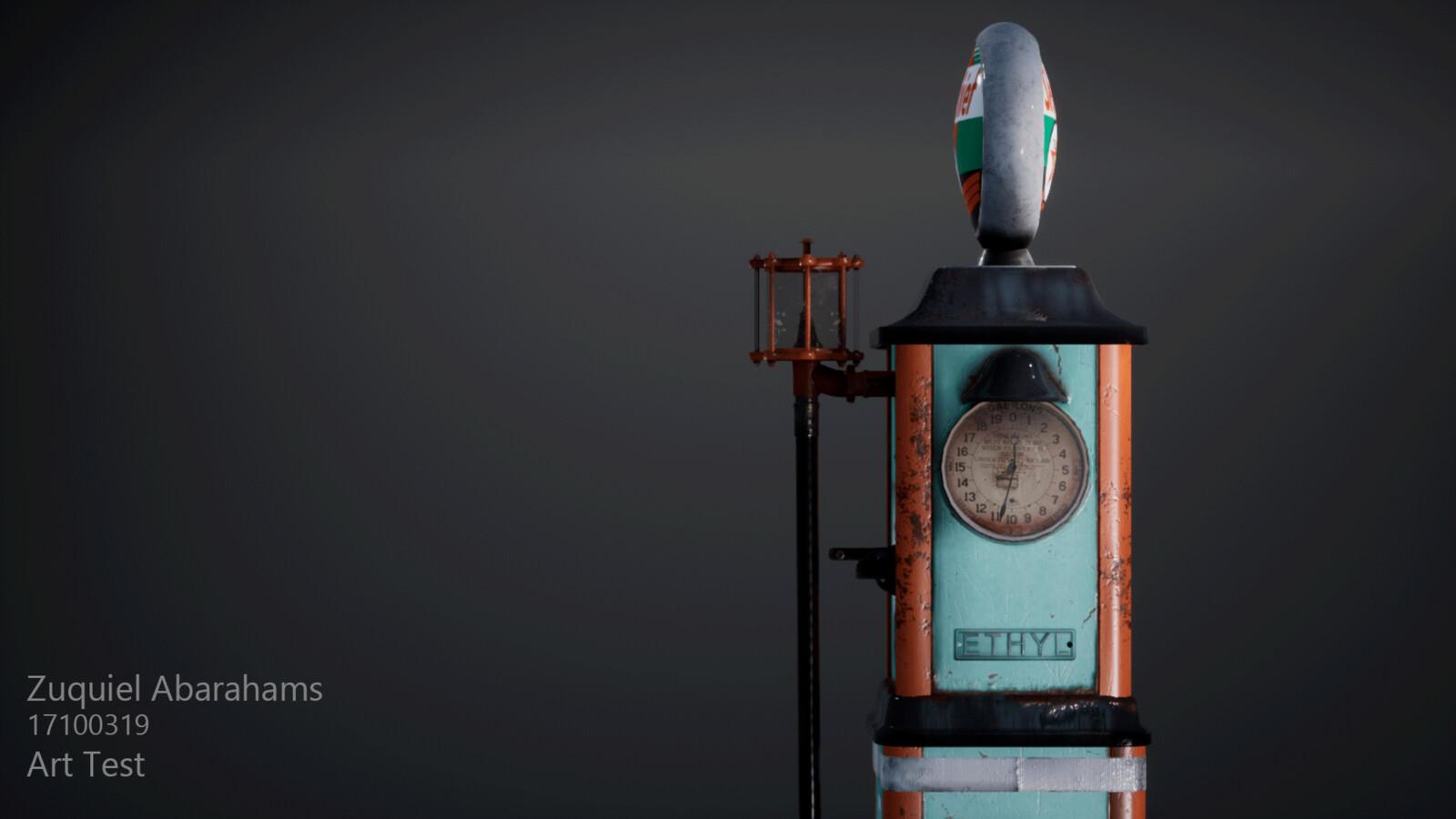 Sky Chief petrol pump
