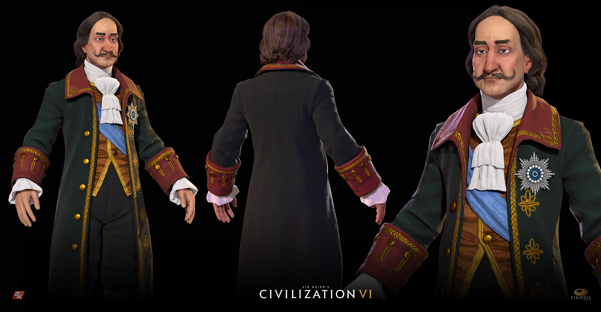 David jones civvi peter modelsheet