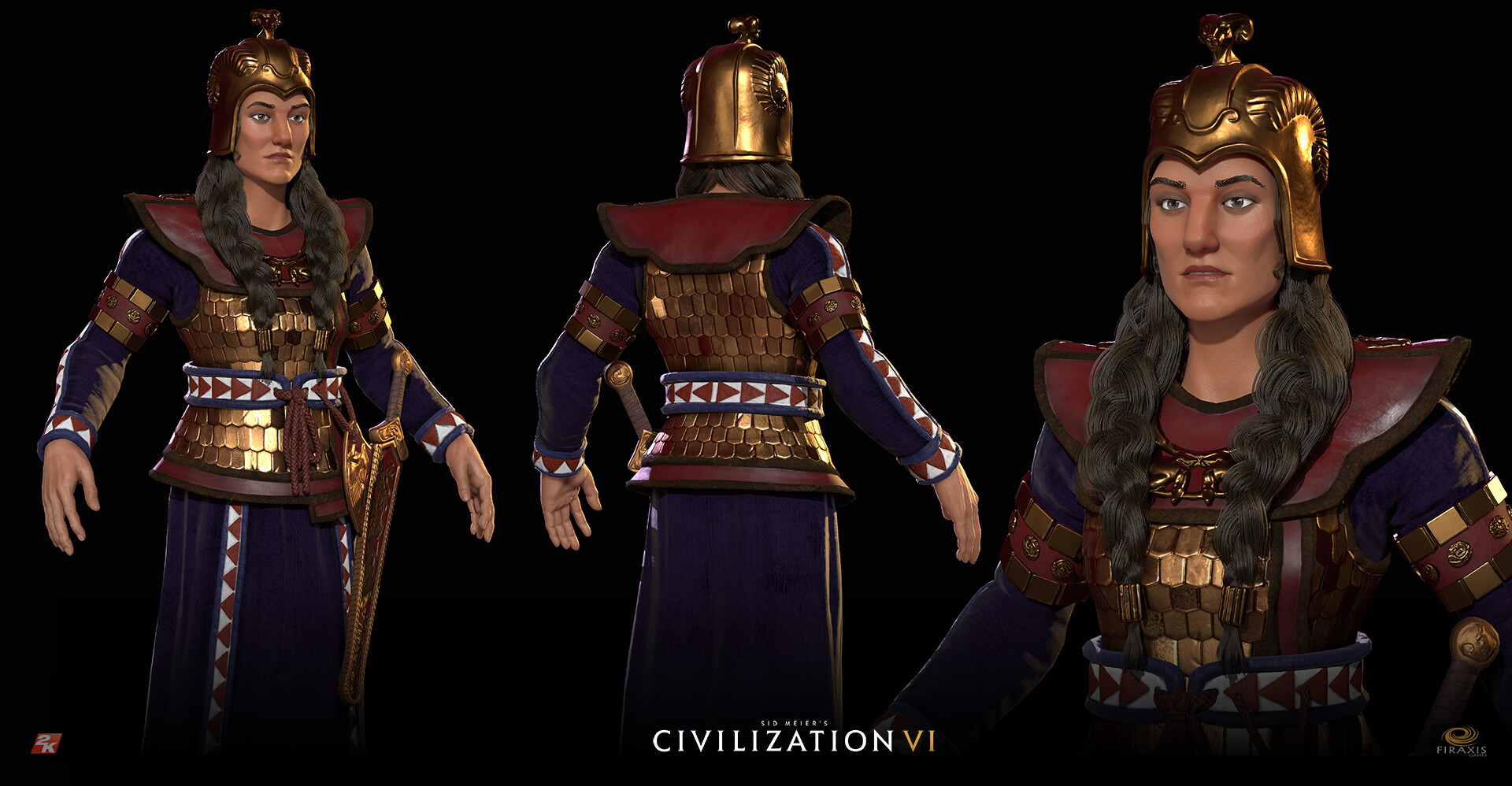 David jones civvi tomyris modelsheet
