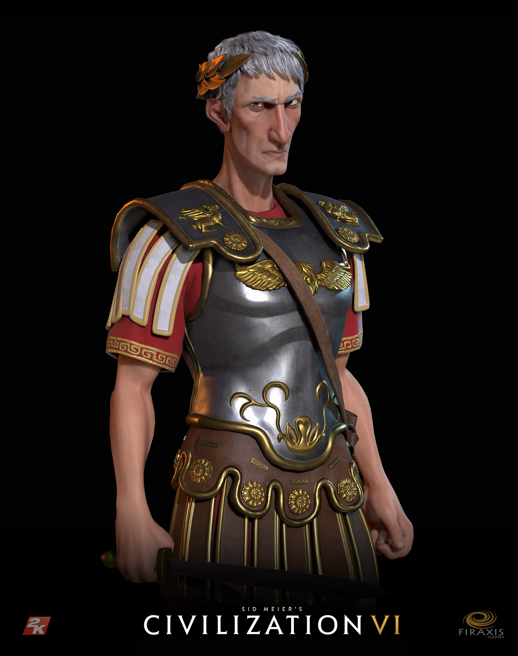 David jones civvi trajan portrait