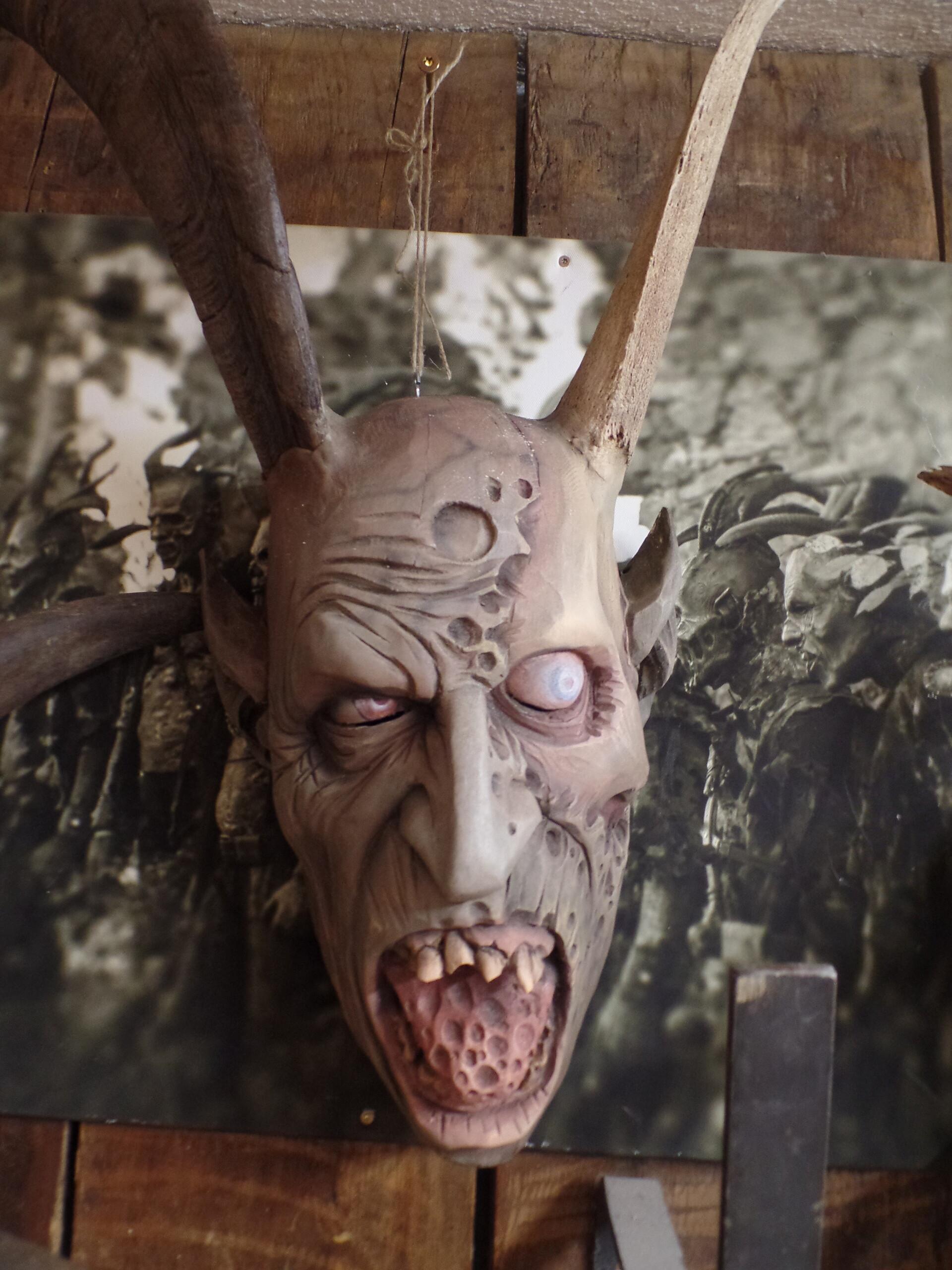 Artstation Krampus Mask Marc Schindler Kornberger