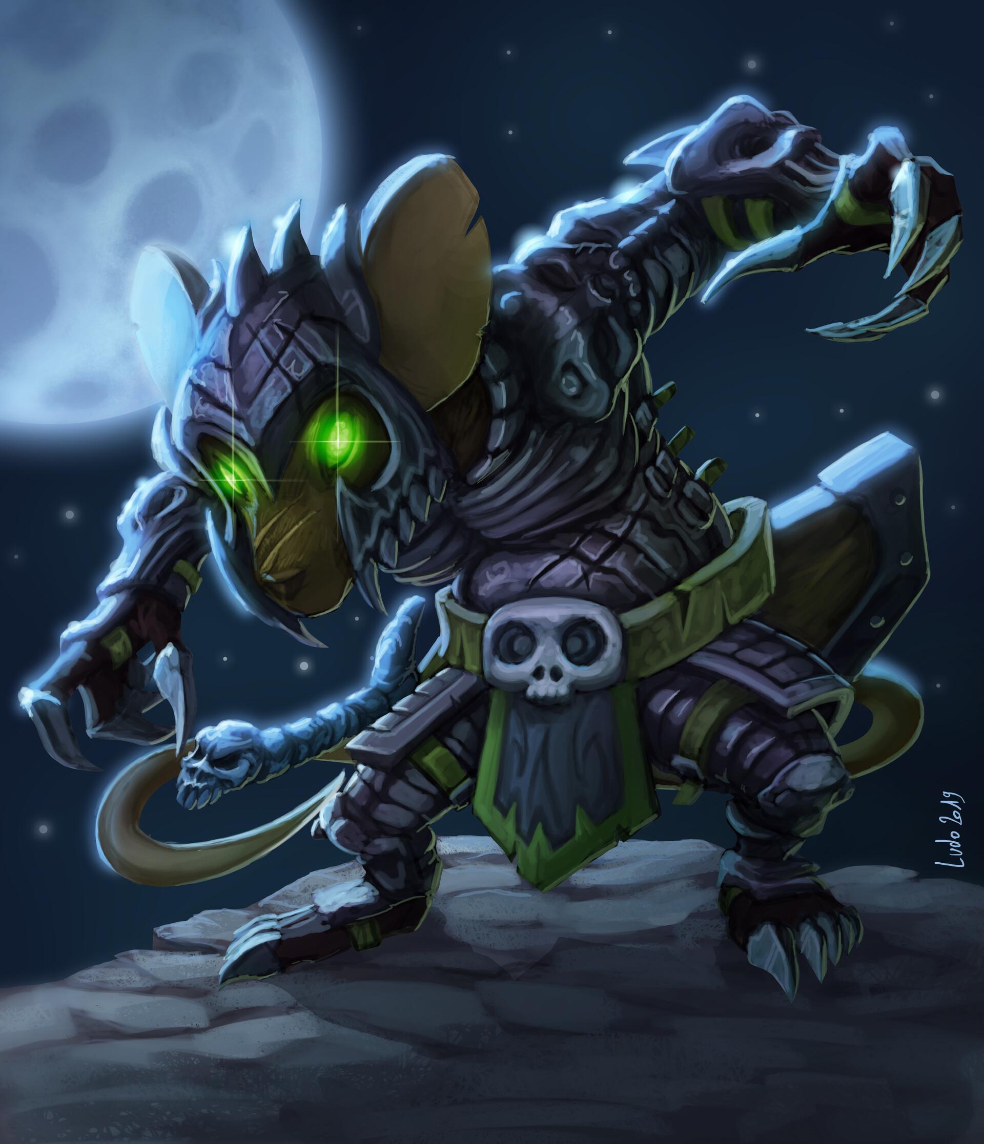 Ludovic rivalland mouse warrior