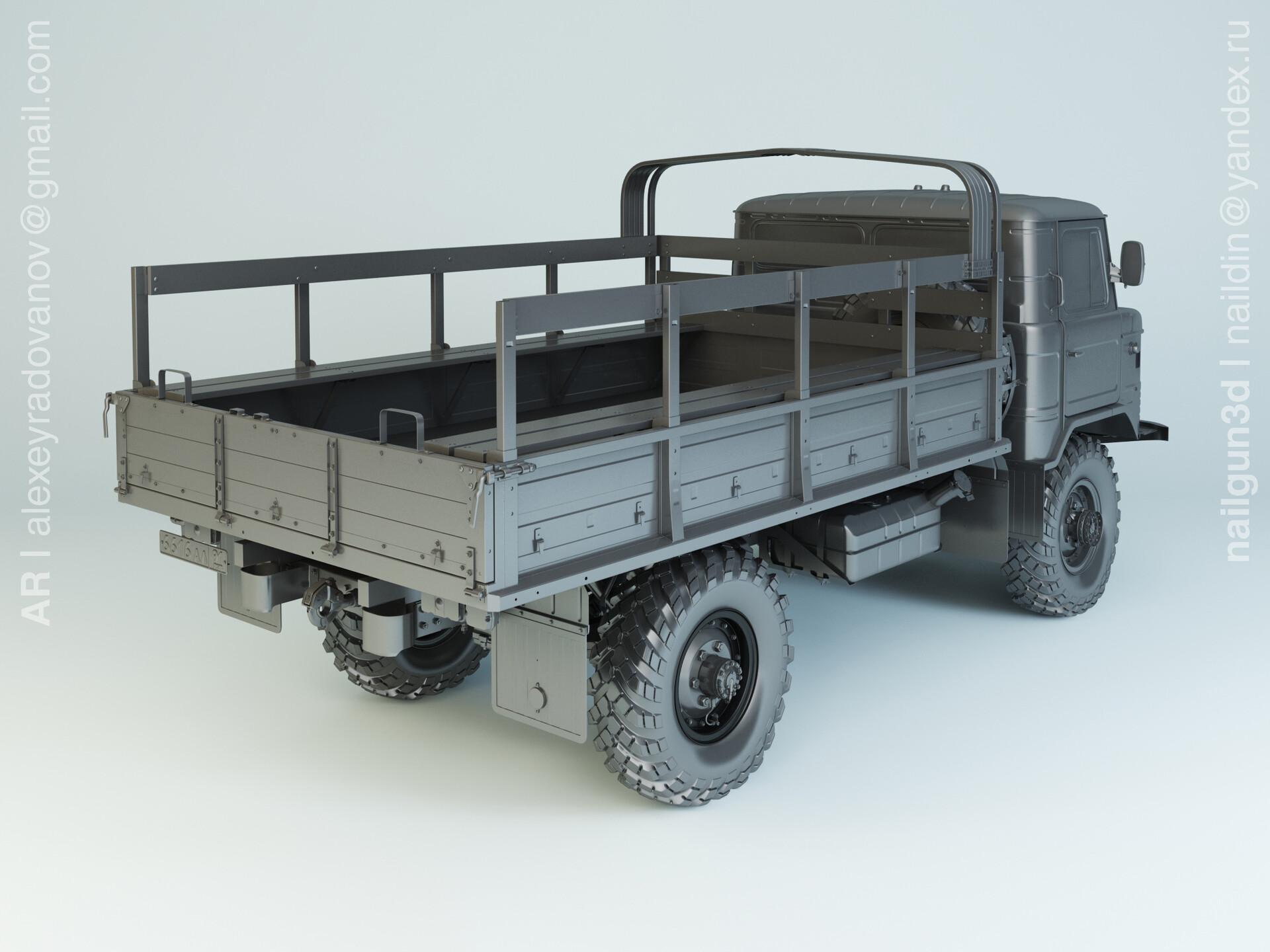 Nail khusnutdinov alg 040 004 gaz 66 modelling 1