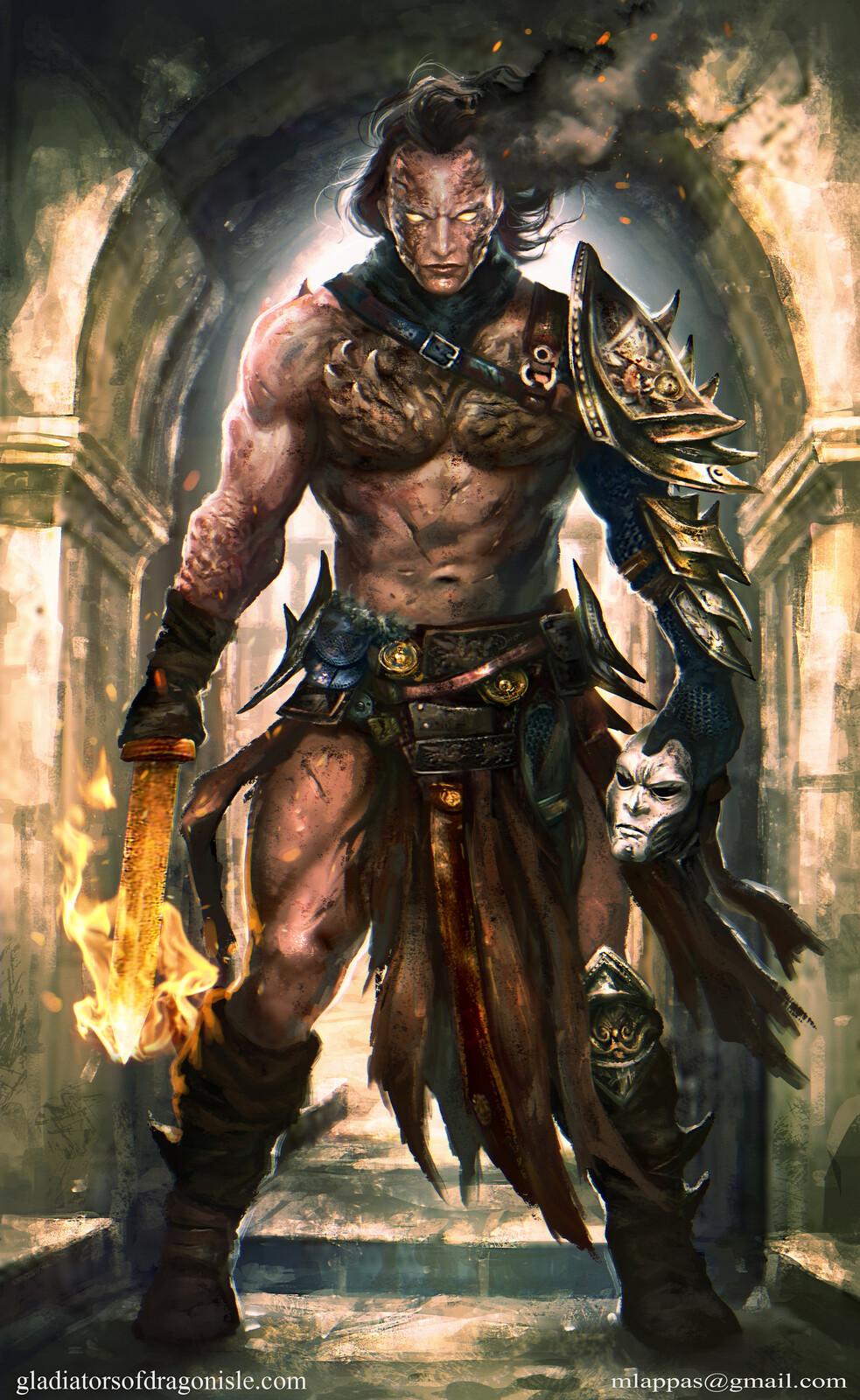 Daze- Gladiators of Dragon Isle