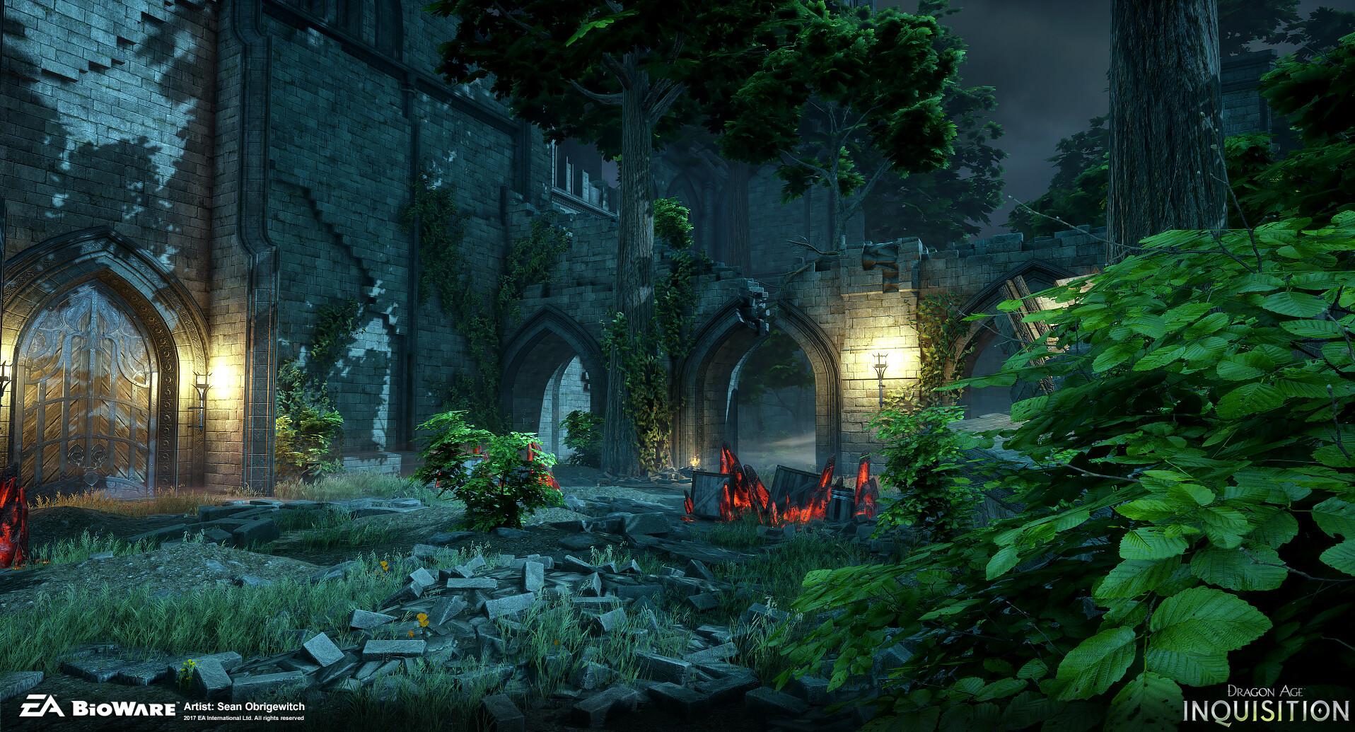 ArtStation - Dragon Age: Inquisition - Elvahn Map, Sean ...