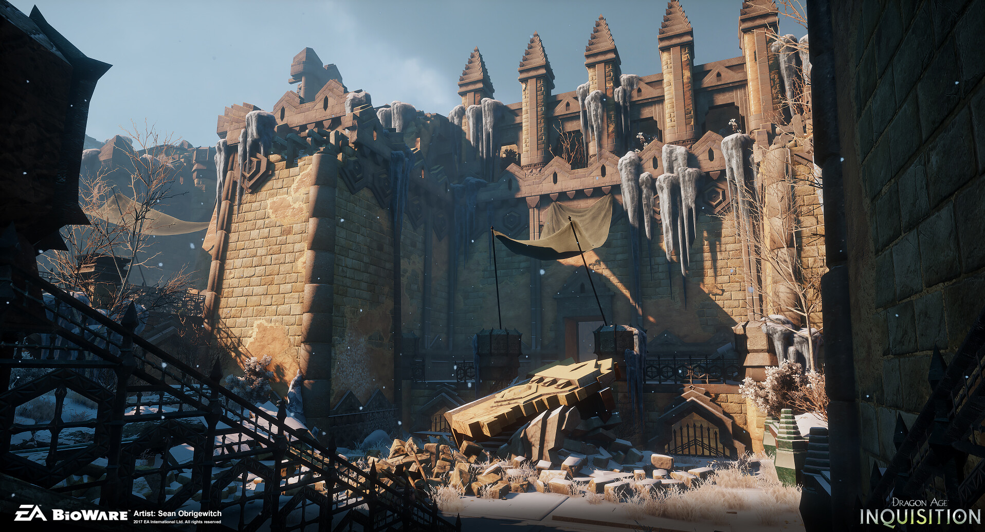 ArtStation - Dragon Age: Inquisition - Tevinter Map, Sean ...