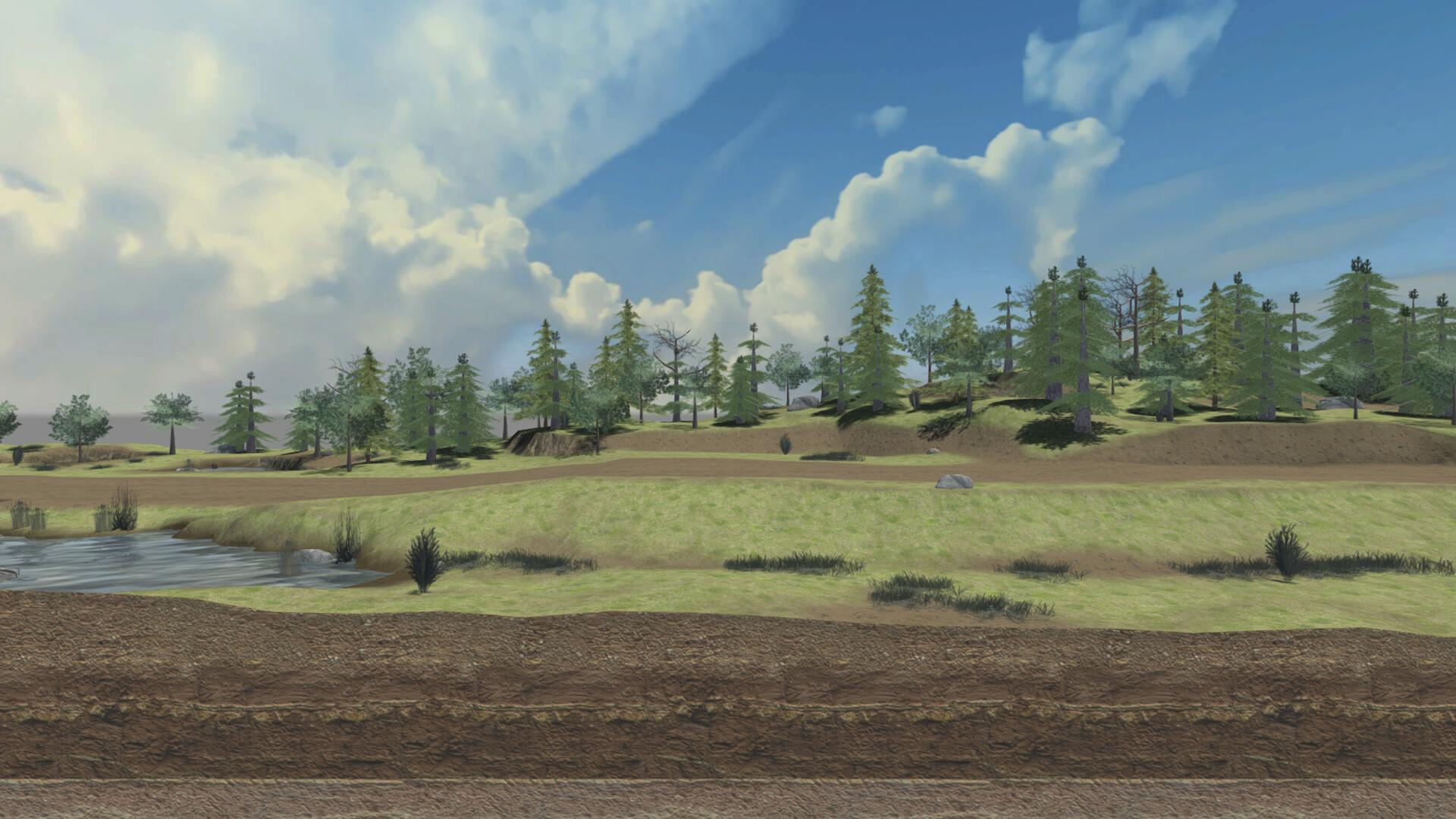 Jordan cameron terrain house front treemountain