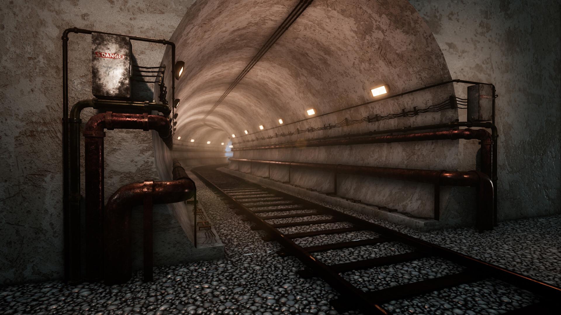 Yavee Yener - Modular Subway Tunnel Setup UE4