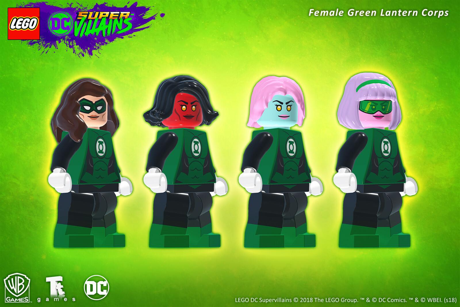 Female Green Lantern Corps