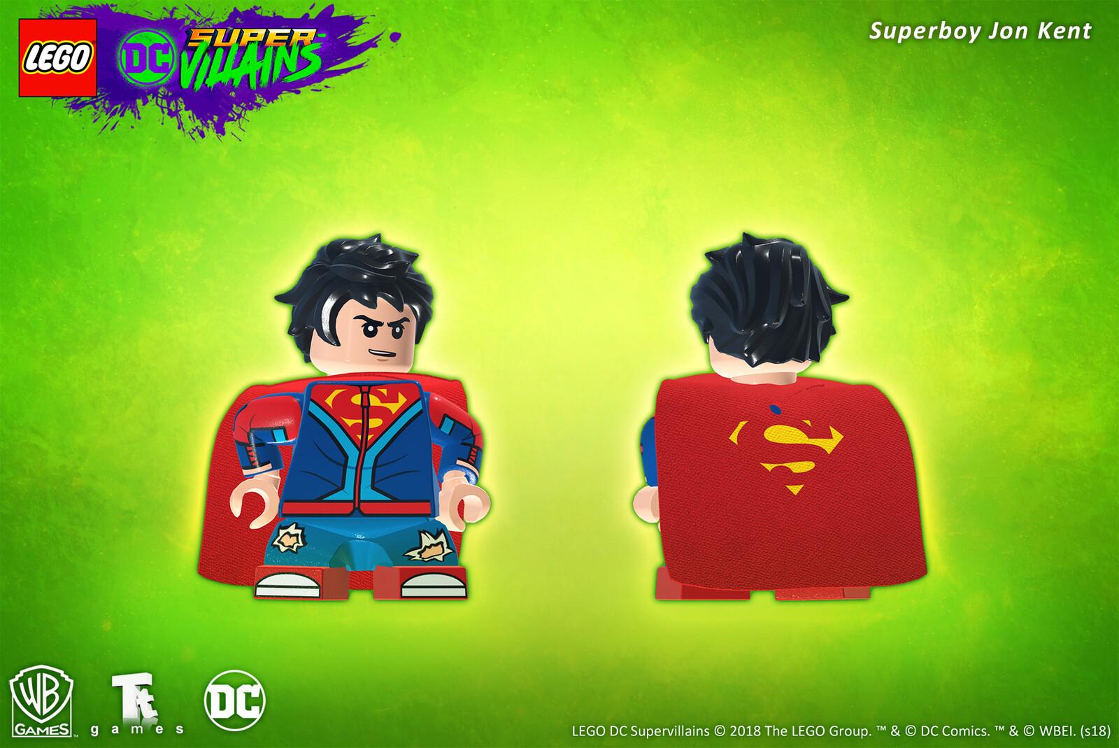 Superboy Jon Kent