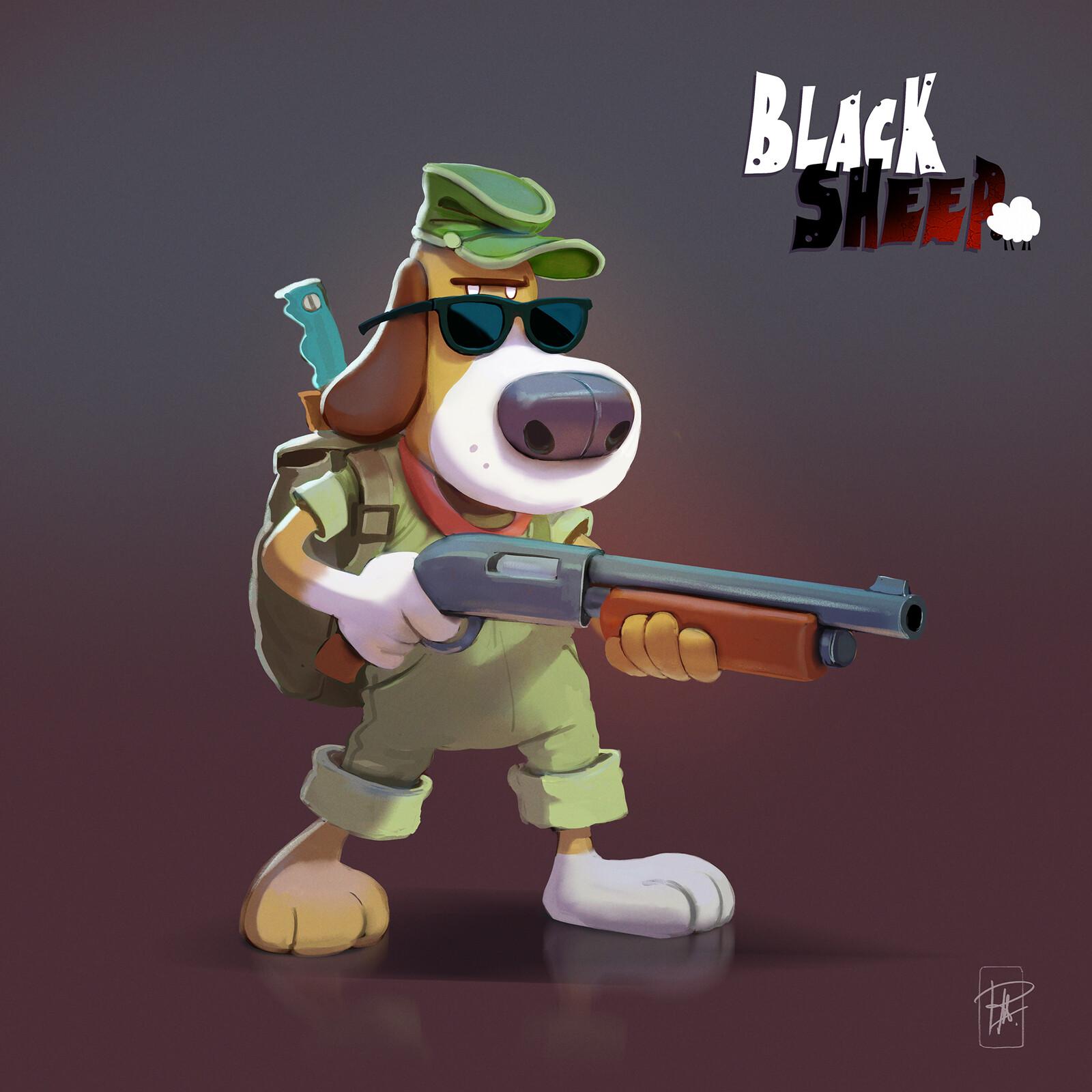 Black Sheep character development