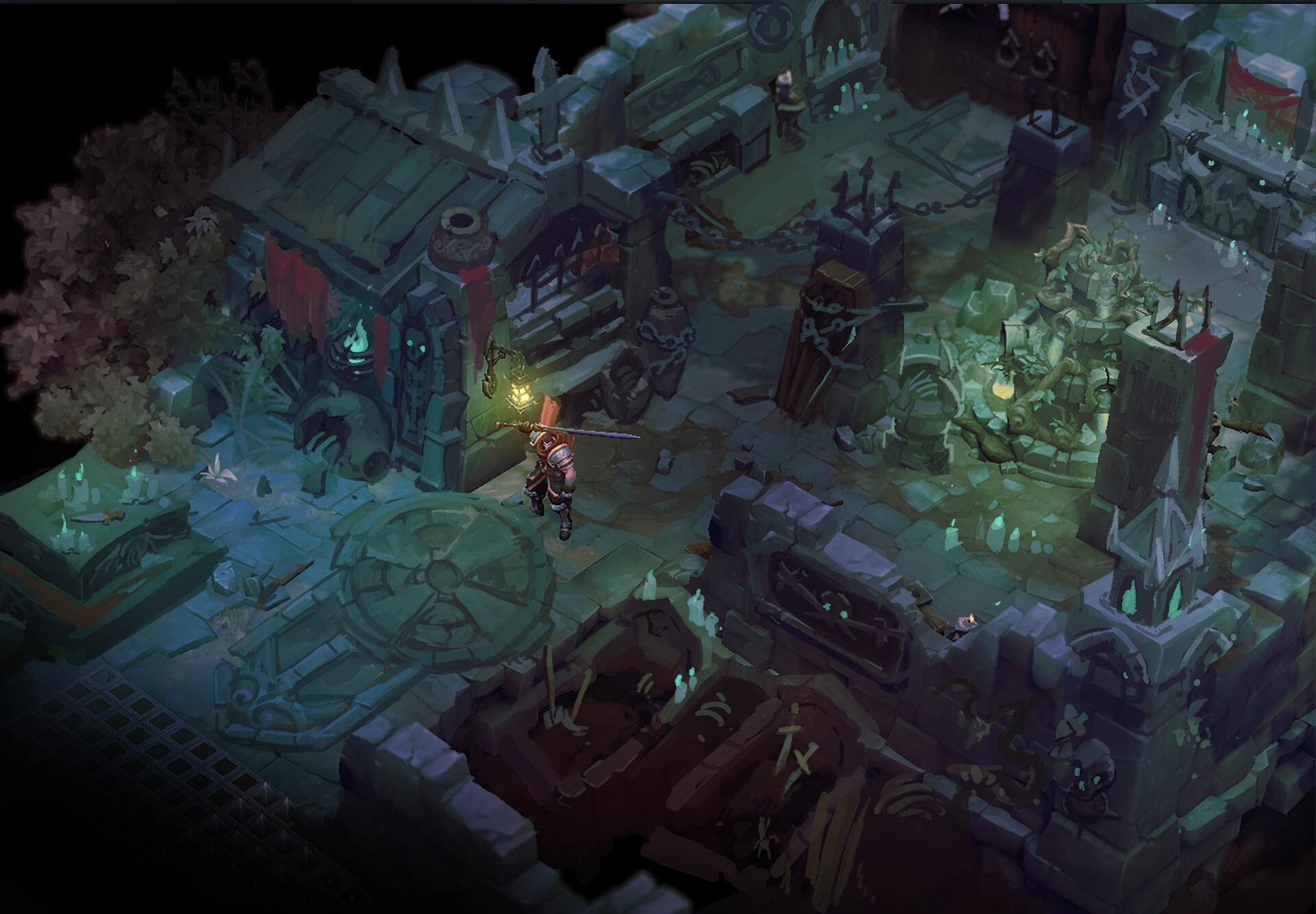 Battle Chasers Concept Art