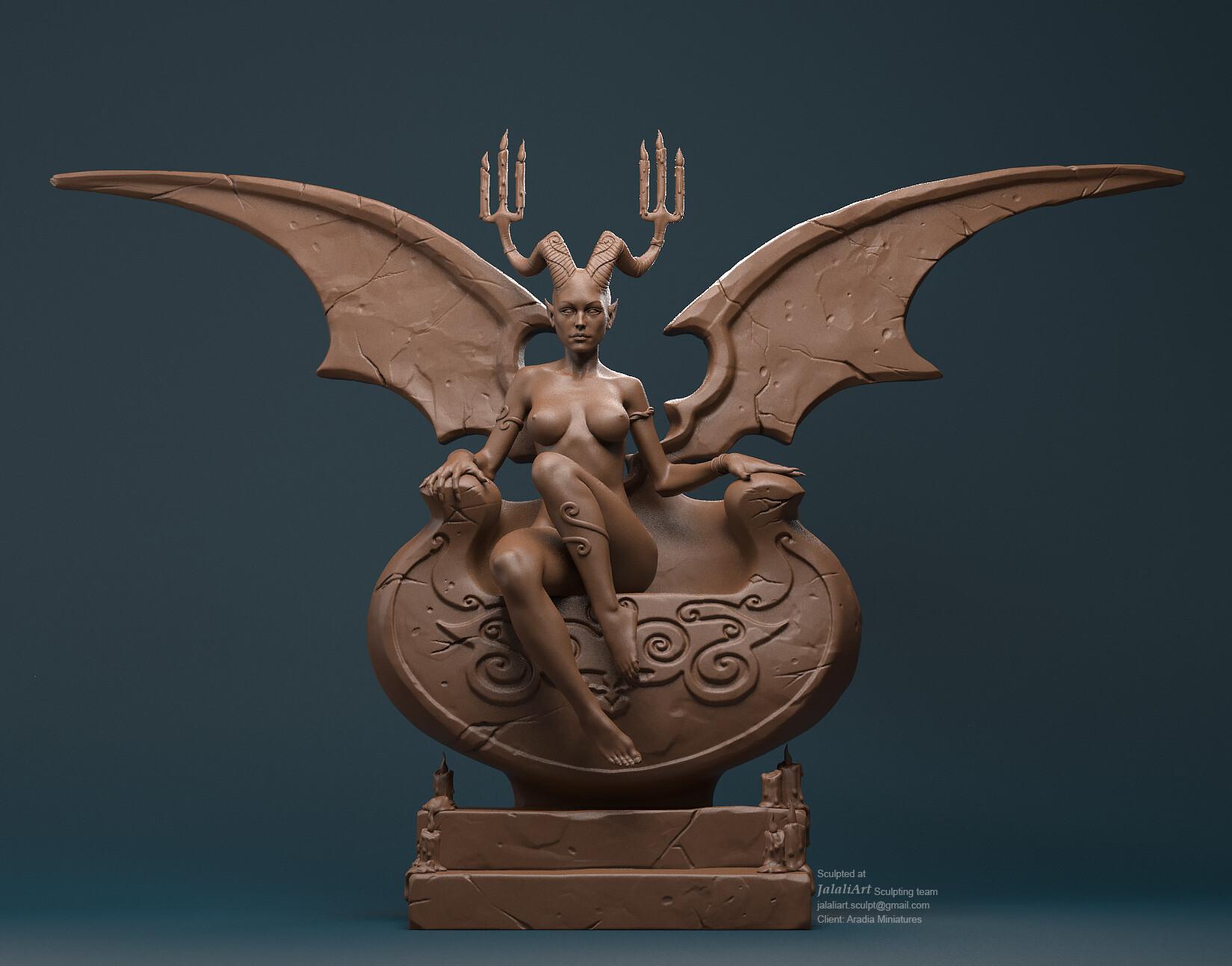 ArtStation - Aradia Queen, JalaliArt Sculpting Team