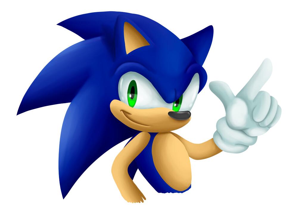 Artstation Sonic The Hedgehog Jasmine Wills