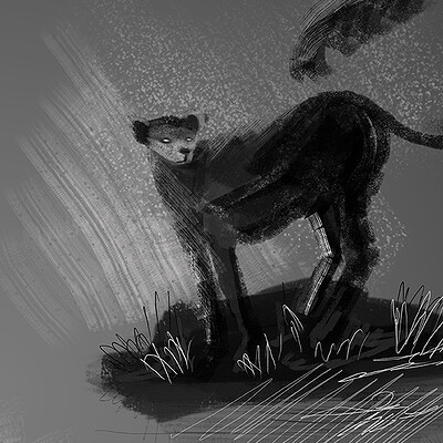 Shizu ren creature concept sketches
