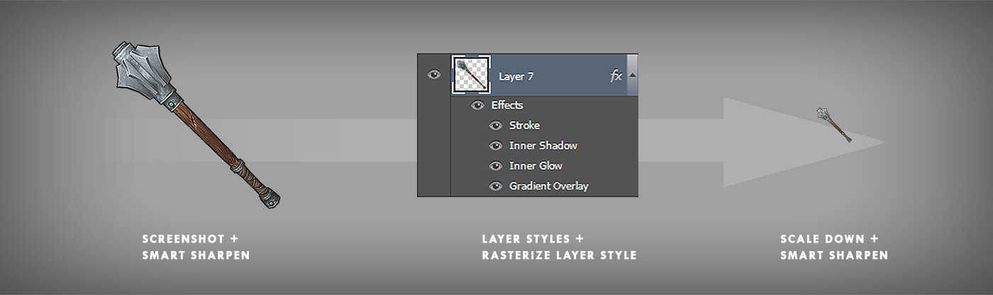 From Screenshot to Icon in Photoshop