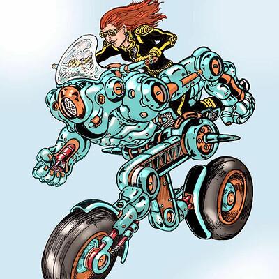 Moto-Robo