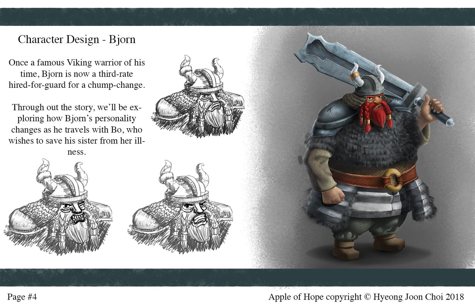 Apple Of Hope - Character Design: Bjorn