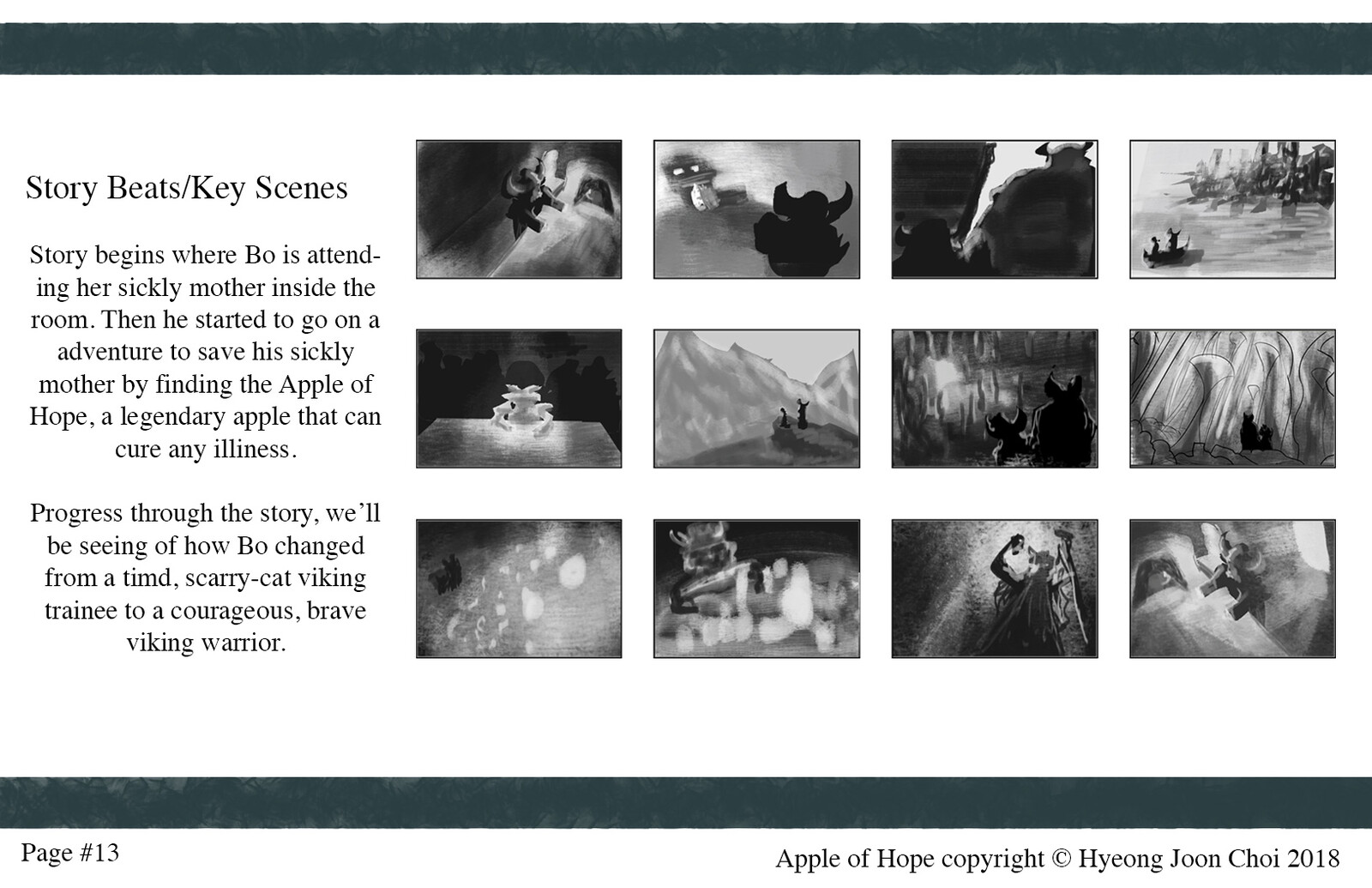 Story Boards for Apple of Hope.