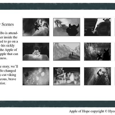 Apple of Hope: Story Boards