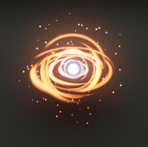 Black Hole Vfx