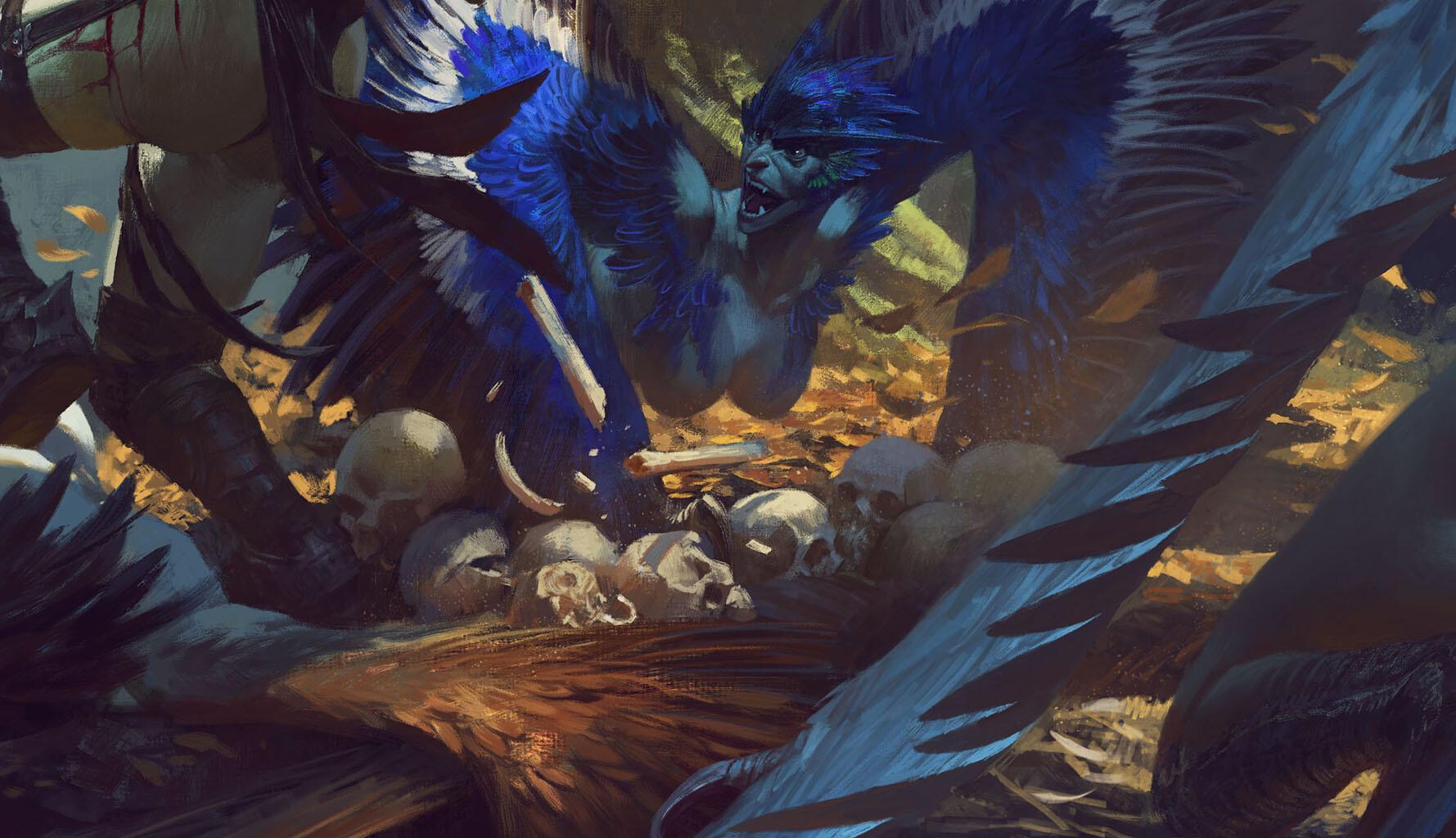 Bayard wu fighting in the harpy nest p04