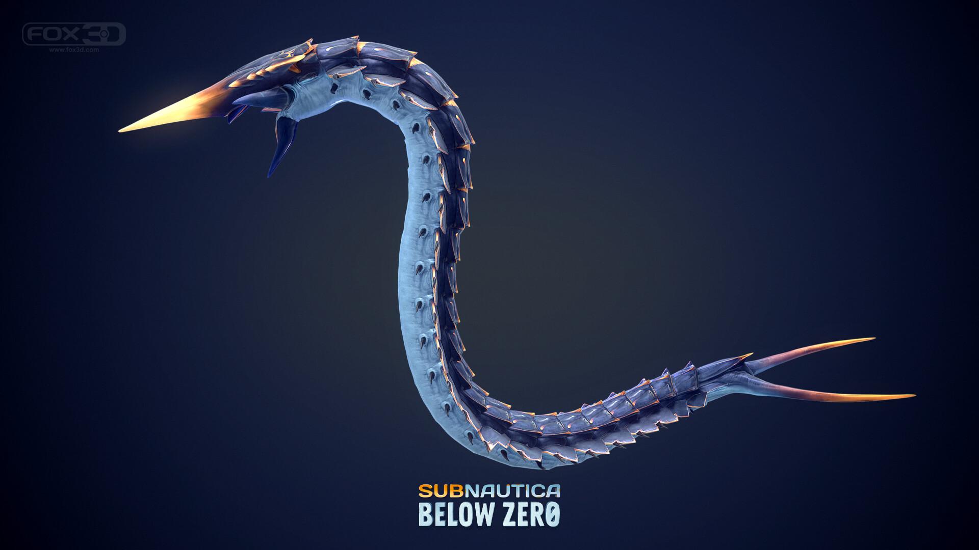 ArtStation - Creatures in Action! (Subnautica: Below Zero