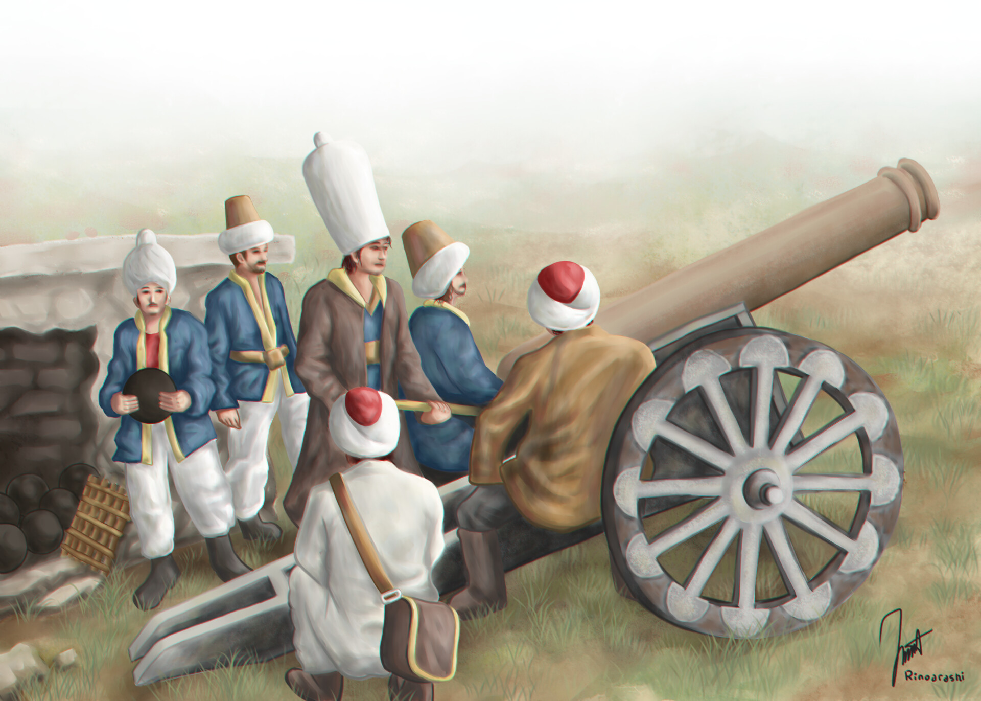 Pleasing Artstation Ottoman Artillery Irfan Muhammad Gmtry Best Dining Table And Chair Ideas Images Gmtryco