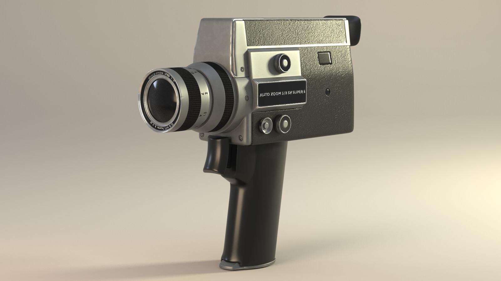1970's Super 8 Film Camera
