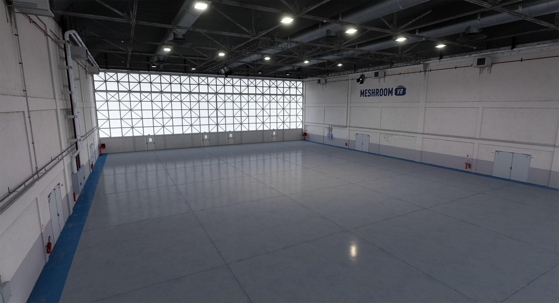MeshroomStudio_WarehouseEnvironment  2018 - Production
