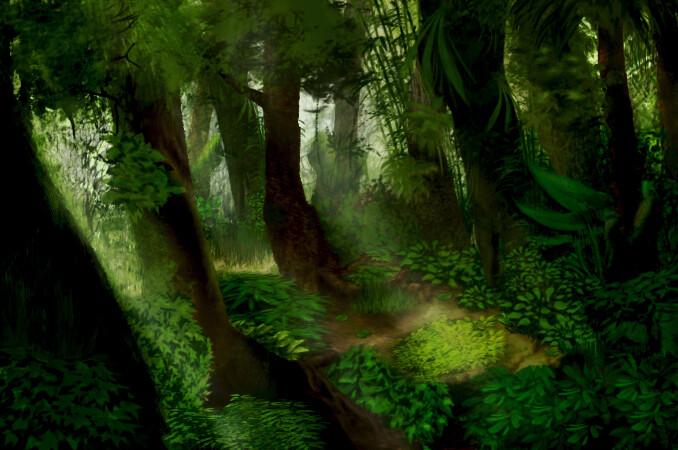 POEMAS SIDERALES ( Sol, Luna, Estrellas, Tierra, Naturaleza, Galaxias...) - Página 24 Jhonny-de-oliveira-simplicio-floresta-concept-ensolarado
