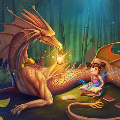 Wison hendrik dragon guardian by cicakkia d6lvfm9