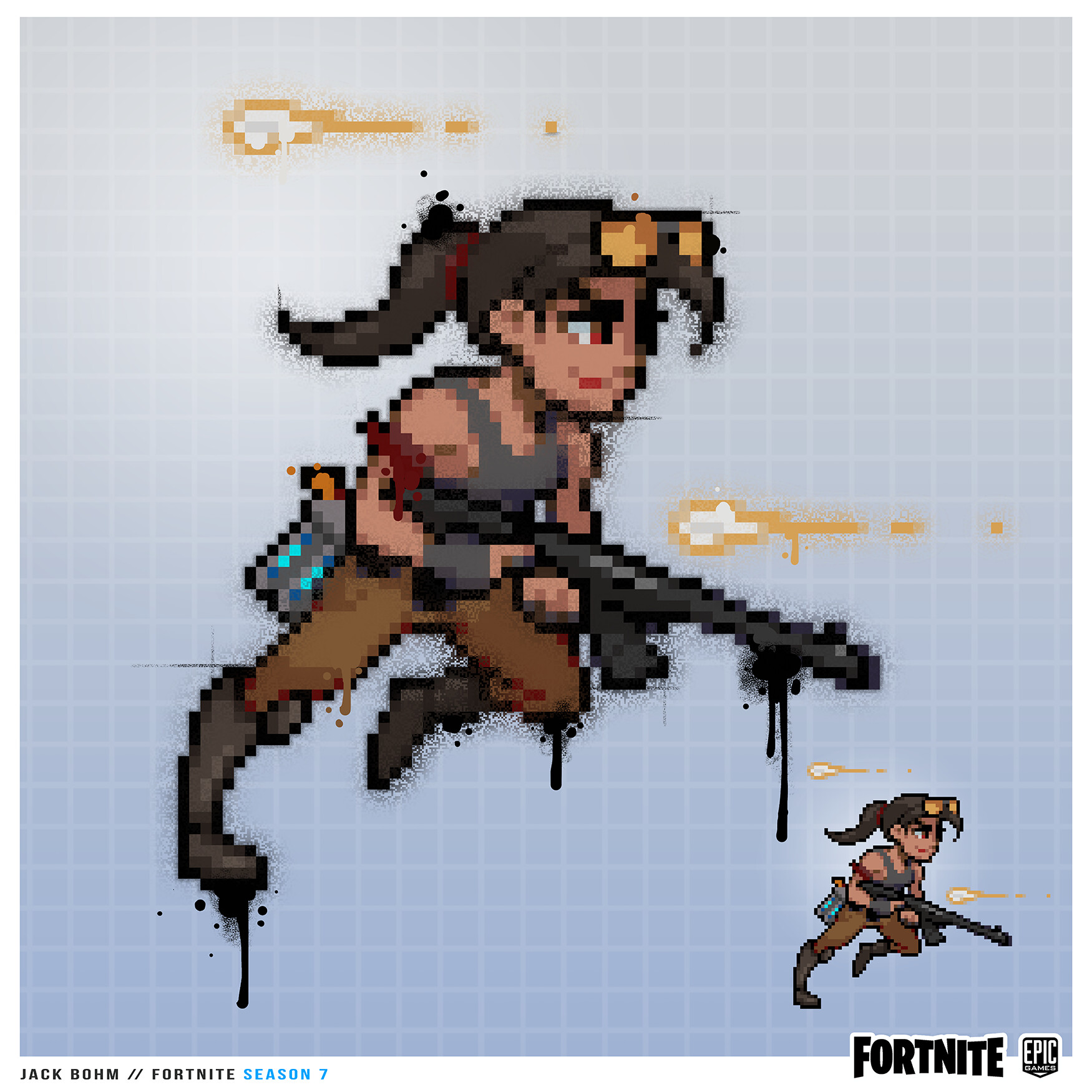 Artstation Fortnite Pixel Ramirez Jack Bohm
