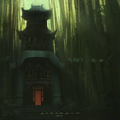 Environment Design - Bamboo Temple