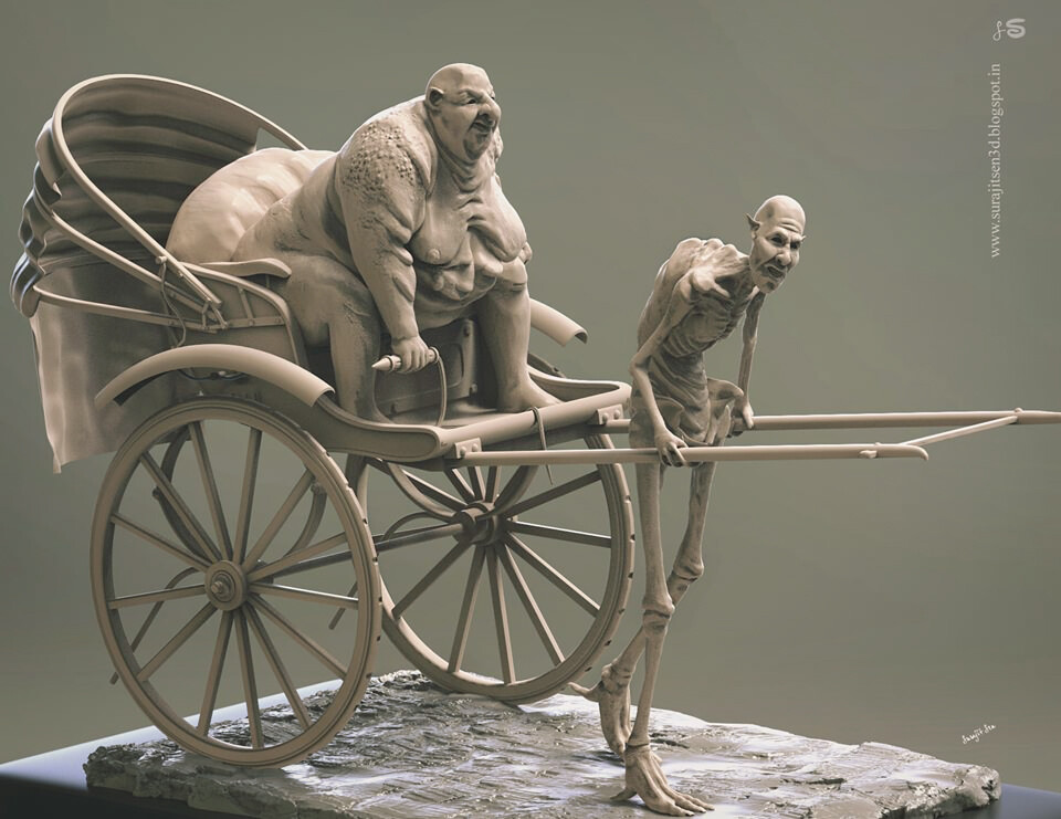 Rickshaw puller! 