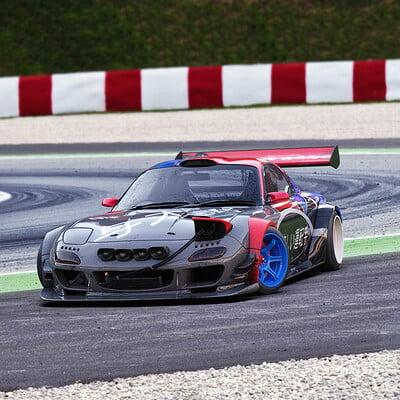 Federico zimbaldi lonely driver racing team