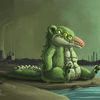 Megan heartfield crocobear