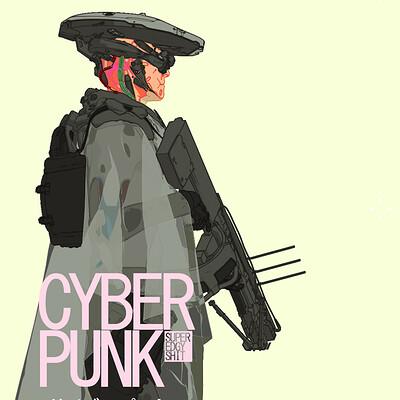 Alex figini cyborg hunter toon 02 001