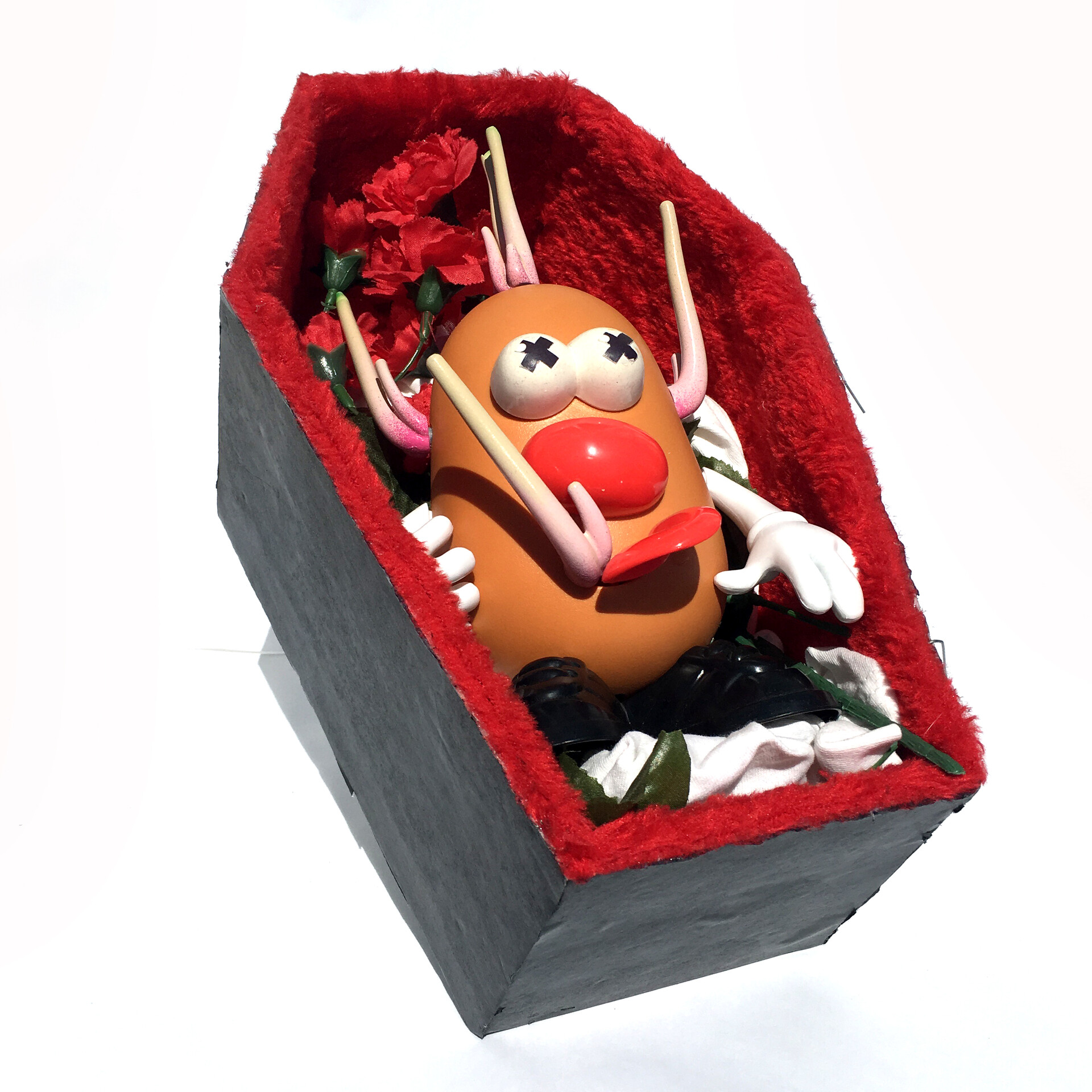 Marion wood potato dex casket