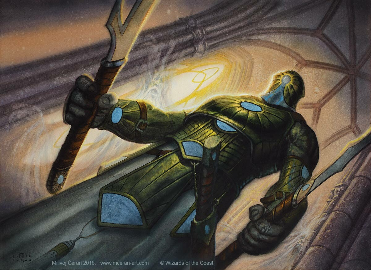 Milivoj ceran mceran mtg knight of the last breath 001