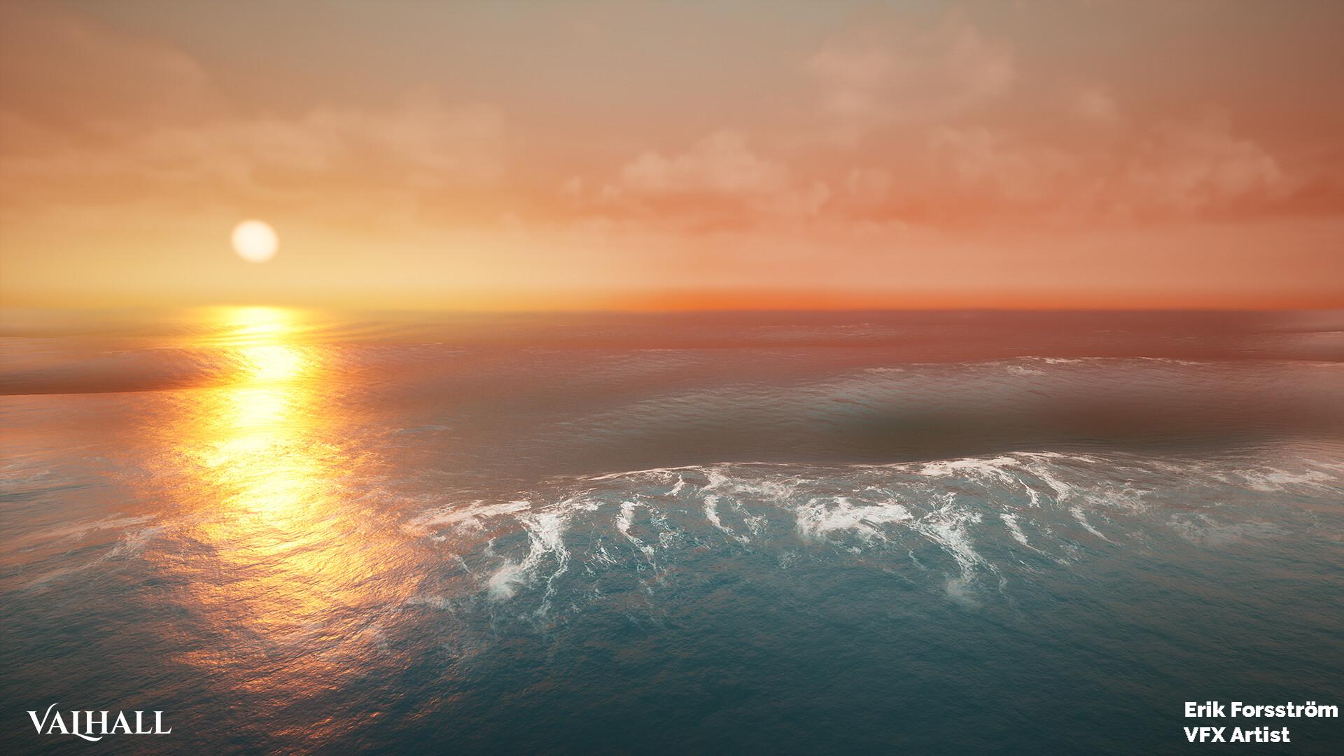 Erik forsstrom erik forsstrom ocean sunset 01